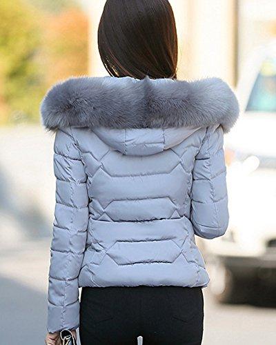 ZhuiKun Manteau Hiver Jacket Femme Veste Automne Court Hrq0H4p