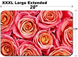 MSD Large Table Mat Non-Slip Natural Rubber Desk Pads Image ID 19746899 Close up Full Photo of a Bunch of Roses