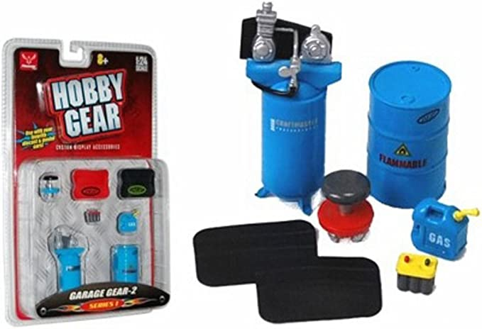 "Amazon.com: ""Hobby Gear"" Garage Gear-2 Series 1 1:24 Scale: Toys & Games"