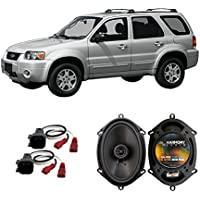 Fits Ford Escape 2001-2012 Front Door Factory Replacement Harmony HA-R68 Speakers New