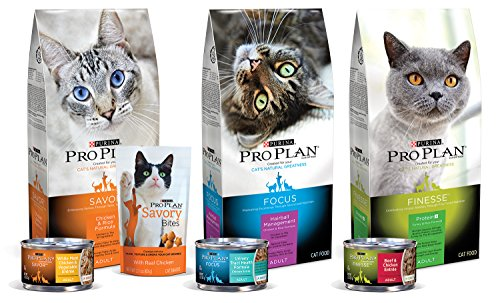 Purina Pro Plan Savory Adult Salmon Entrée with Wild Rice Braised in Sauce Wet Cat Formula, 3-Ounce