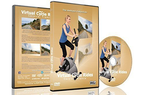 Virtual Cycle Rides - Corsica, France - For Indoor Cycling, Treadmill and Running Workouts
