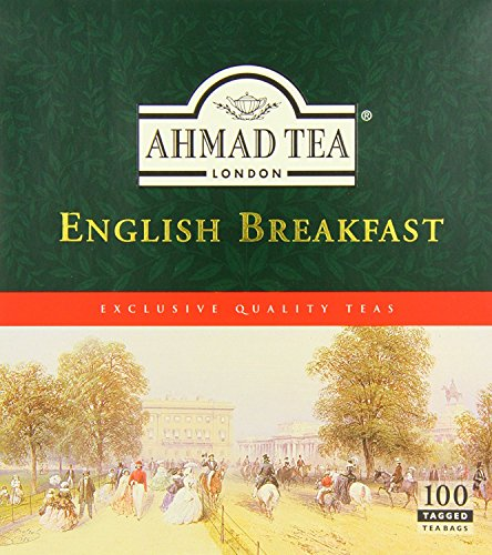 Ahmad Tea English Breakfast (Pack of 1, Total 100 Tea for sale  Delivered anywhere in USA