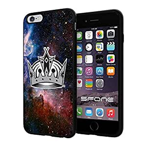Los Angeles Kings Nebula #1803 iphone 5s) I+ Case Protection Scratch Proof Soft Case Cover Protector