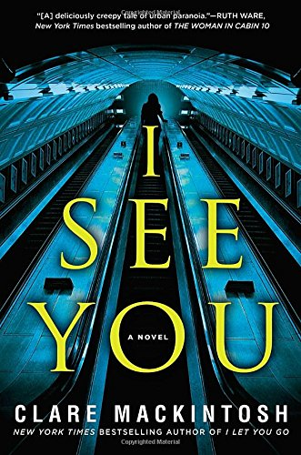 I See You by Clare Mackintosh | book review - Katherine Scott Jones
