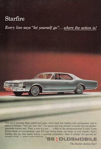 Print Ad: 1965 Oldsmobile Starfire ()
