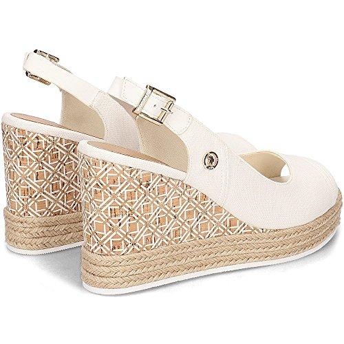 Pour Bianco polo Femme Beige Assn U s Sandales WHcaTIq