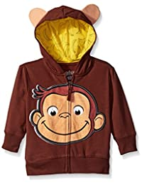 Curious George Boys' Toddler Character Hoodie