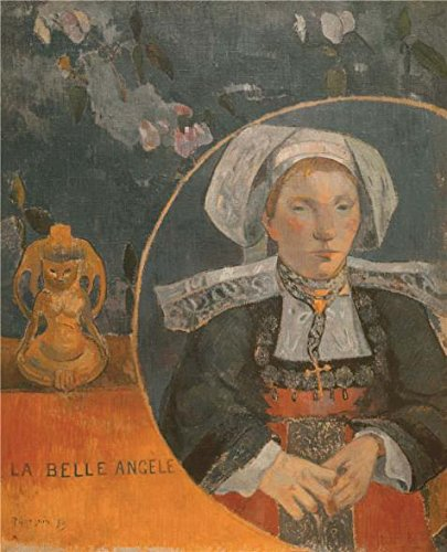 Oil Painting 'The Beautiful Angel (Madame Angele Satre, The Innkeeper At Pont-Aven), 1889' Printing On High Quality Polyster Canvas , 18x22 Inch / 46x56 Cm ,the Best Bathroom Gallery Art And Home Gallery Art And Gifts Is This Replica Art DecorativePrints On