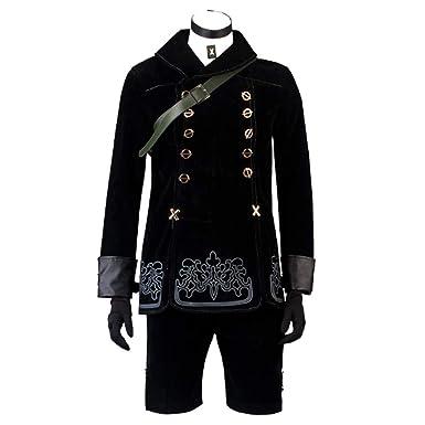 Cosfun Nier:Automata Yorha 9S Cosplay Costume mp003599 (Men XS)