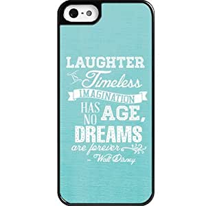 Dreams Walt Disney Quote For Ipod Touch 5 Case CoverCustom Personalized For Ipod Touch 5 Case Cover case