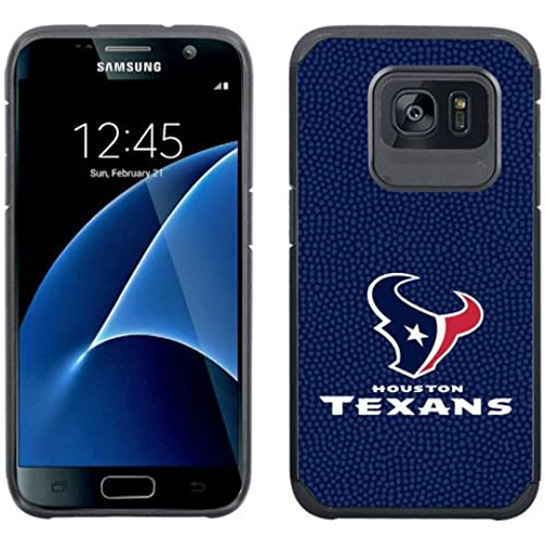 SAMSUNG GALAXY S7 CASE - Official NFL Licensed NetGen Dual Layer Hybrid [Slim Tough Armor] Cellphone Case (Houston Sales