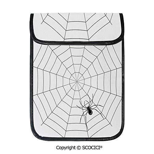 SCOCICI Simple Protective Toxic Poisonous Insect Thread Crawly Malicious Bug Halloween Character Design Decorative Pouch Bag Sleeve Case Cover for 12.9 inches Tablets]()