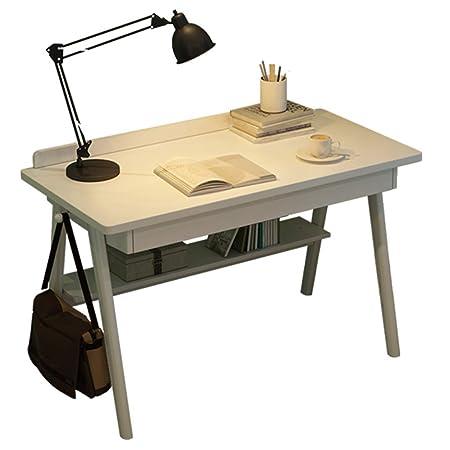 Yushesen Mesa de Comedor Escritorio de Madera de Estilo nórdico ...