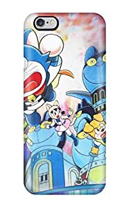 Ultra Slim Fit Hard Ortiz Bland Case Cover Specially Made For Iphone 6 Plus- Doraemon Japan Cartoon