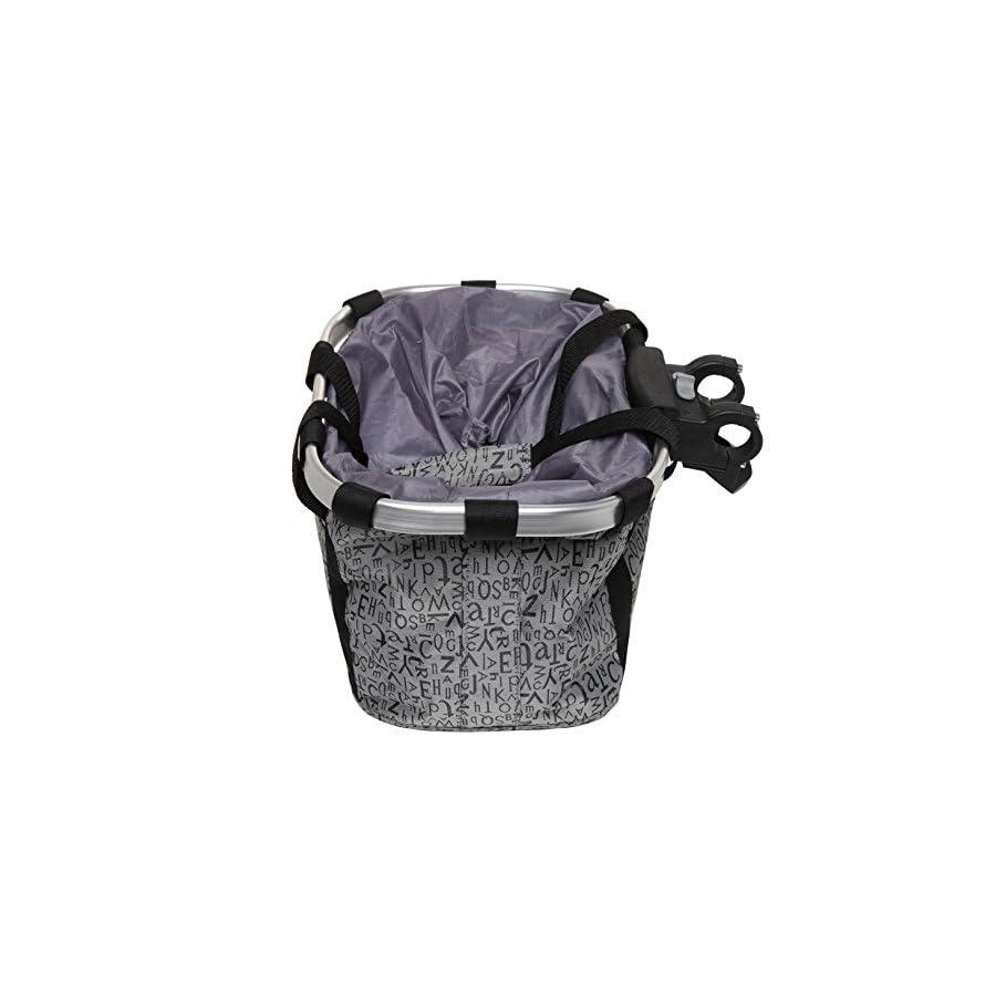 MyGift Multi Purpose Bicycle Basket Carrier/Car Organizer with Drawstring Closure & Top Handles