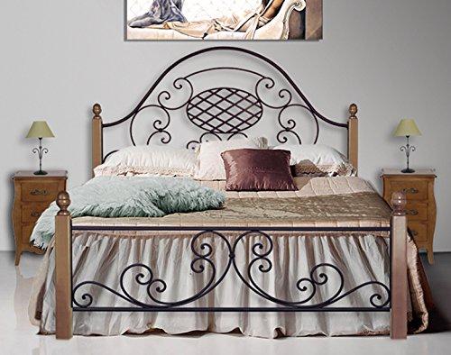 Betten fets geschmiedet und VERONICA. Modell: Holz