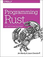 Programming Rust Front Cover