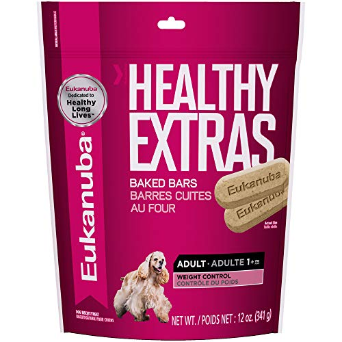 Eukanuba Healthy Extras Adult Weight Control Dog Treats 12 Ounces