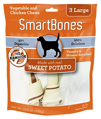 SmartBones Sweet Potato Large pieces product image