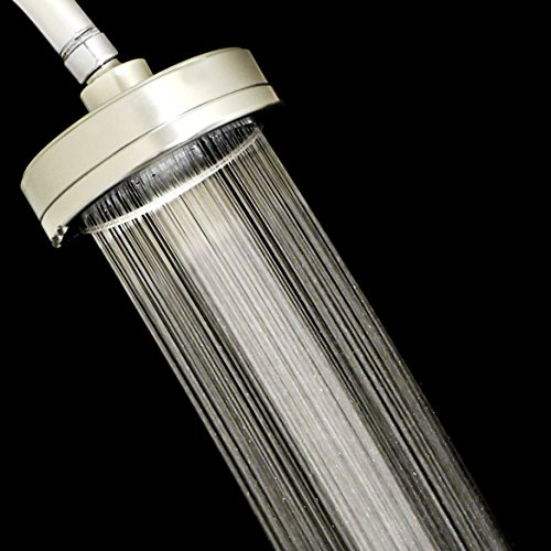 Filtered Shower Head, Removes Chlorine with Quality Replacement Filter, Premium All Metal Design, Rain Shower with Over-Sized 4.5
