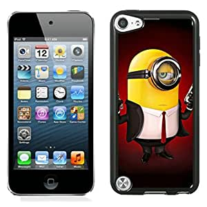 Hitman Minion Black Abstract Design Custom iPod Touch 5 Case
