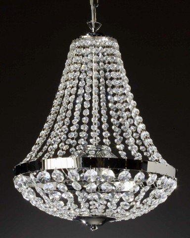 Kronleuchter Kristall kristall kronleuchter nele farbe silber gold amazon de beleuchtung