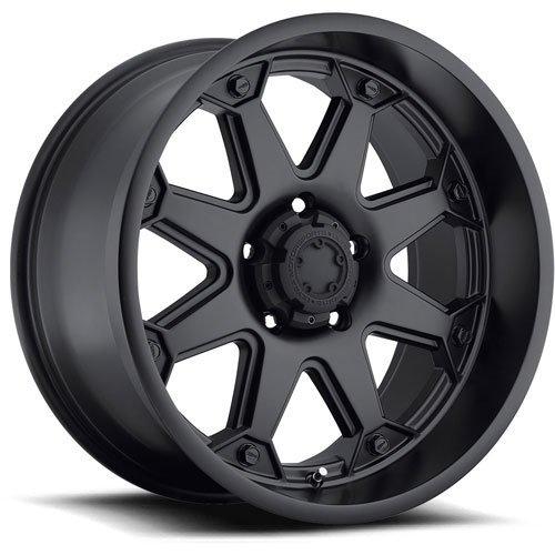 Ultra Wheel 198B Bolt Satin Black Wheel (17x8