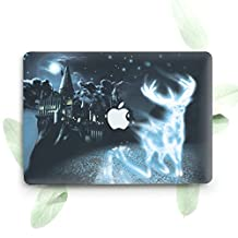 ZVStore Protective Shell Cover Sleeve Durable Plastic Slim Hard Pro Case for Macbook (Pro Retina 15 (A1398), Harry Potter Deer)