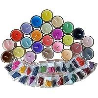SODIAL 24 Colores 2G por Tinte de Cera