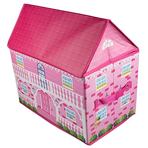 smart inspiration cd storage cases. Pink Cottage Style House Collapsible Toy Storage Organizer by Clever  Creations Sturdy Box Folding for Child s Bedroom Perfect Size Chest Boxes Dolls Amazon com