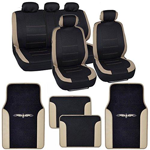 cute car seat covers floor mats - 5
