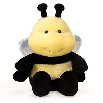 Fiesta Toys Lil' Buddies Bee Stuffed Animal Beanbag Toy - 5 Inches: Toys & Games