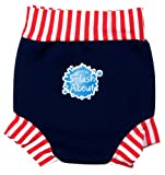 Happy Nappy Baby and Toddler Swim Diaper, Navy
