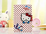 iPad Mini Case, Phenix-Color Hello Kitty Design Premium Flip Stand PU Leather Hard Case for Apple iPad Mini 1/2/3 + Free Screen Protector (#2)