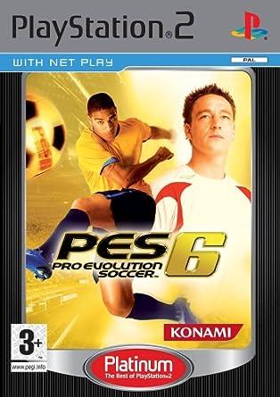 Pro Evolution Soccer 6 Platinum (PS2): Pro Evolution Soccer 6