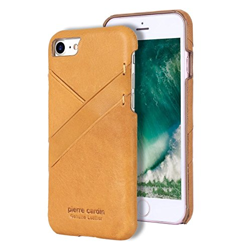 Capa para iPhone 7 iPhone 8, Pierre Cardin, PC19-01, Amarelo