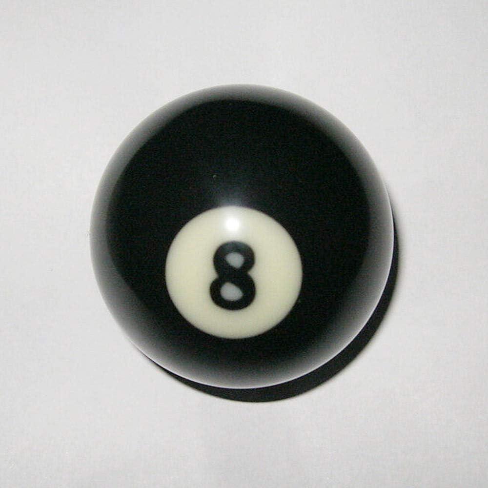 styleinside Mesa de Billar Bola de Billar # 8 reemplazo Bola Ocho Tamaño tegular estándar Bola 8: Amazon.es: Deportes y aire libre