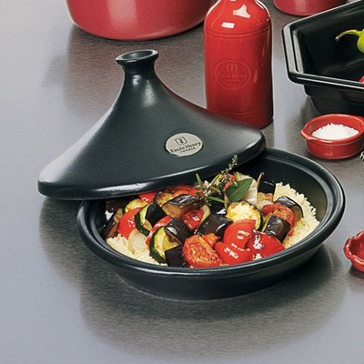 2.6 Qt. Tagine Flame Color: Black