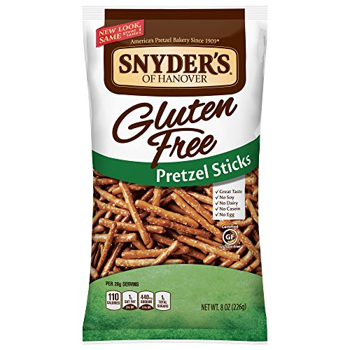 (Snyder's of Hanover Gluten Free Pretzel Sticks, 8 Ounce)