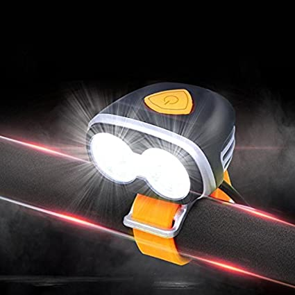Ponis-Limos - USB Rechargeable Bicycle Front Light 6 Mode ...