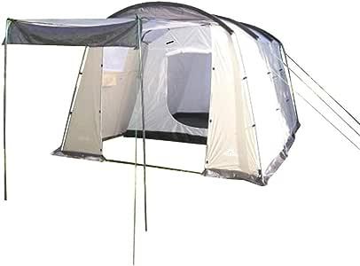 North Star - Tienda de campaña Roma 2 Habitaciones - Tienda de Acampada Familiar Grande para Camping con Habitaciones.: Amazon.es: Deportes y aire libre