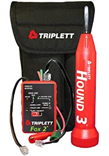 Triplett Fox & Hound 3399 Premium Wire and Cable Tracing Kit with Tone Generator and Probe