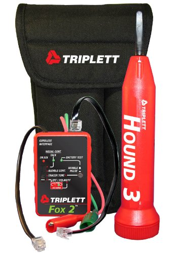 Triplett Fox & Hound 3399 Premium Wire and Cable Tracing Kit