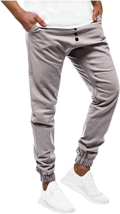 Subfamily Pantalones Casuales Deportivos de Color Sólido con ...