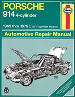 Porsche 914 4 cylinder engines owners workshop manual 1969 1976 porsche 914 4 cylinder automotive repair manual 1969 1976 haynes automotive repair fandeluxe Gallery