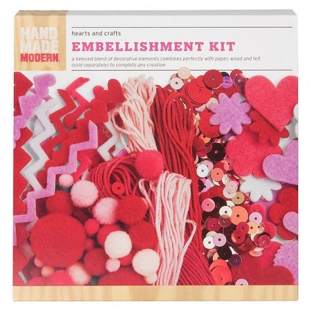 Hand Made Modern – Embellishment Kit – Hearts and Crafts