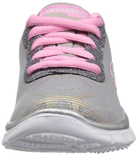 Skechers Skech Gimme Gymt Appeal Glimmer Mädchen Grau Sneakers 77rqA1f