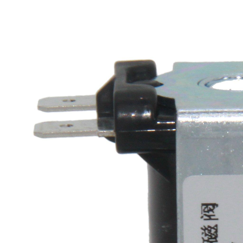 12V 24V Solenoide de 1//4 Pulgadas NC Normalmente Cerrado para Equipos de Agua Potable Gazechimp 12V