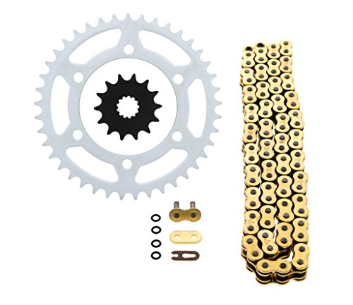 2014 O-ring Chain - 2013-2014 Kawasaki EX300A Ninja 300 Gold O Ring Chain and Sprocket 14/41 520-106